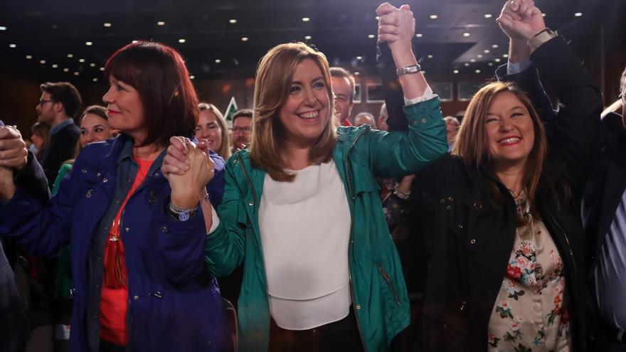 Susana Díaz lanza este domingo su candidatura a las primarias arropada por González, Zapatero, Guerra y Rubalcaba