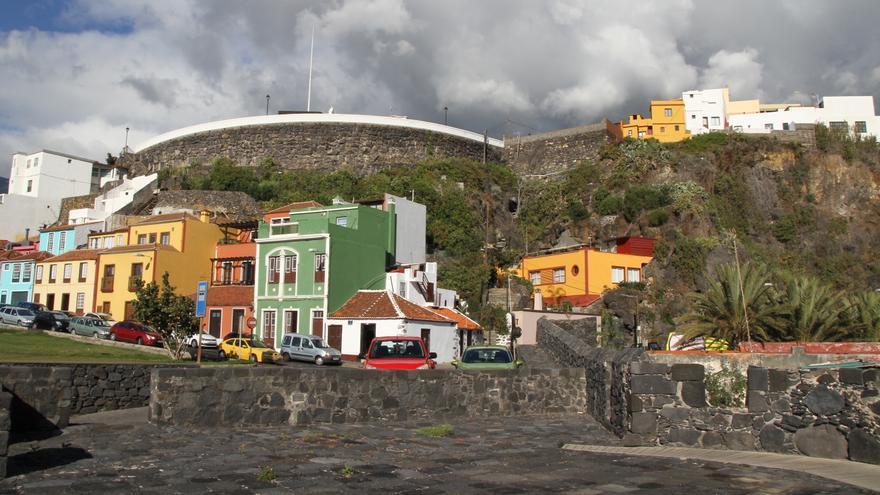 Entrada norte de Santa Cruz de La Palma.