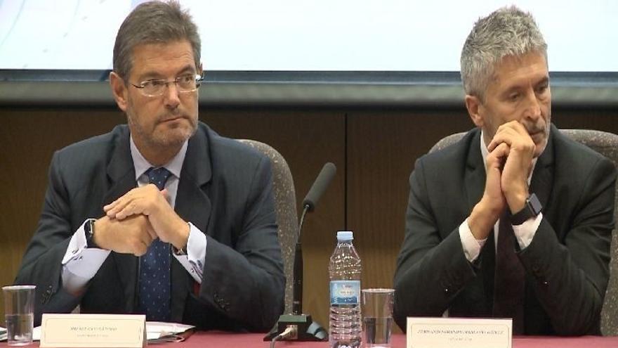 """Marlaska (CGPJ) cree """"un grave error"""" que las instituciones catalanas  generen """"desconfianza"""" hacia los jueces"""