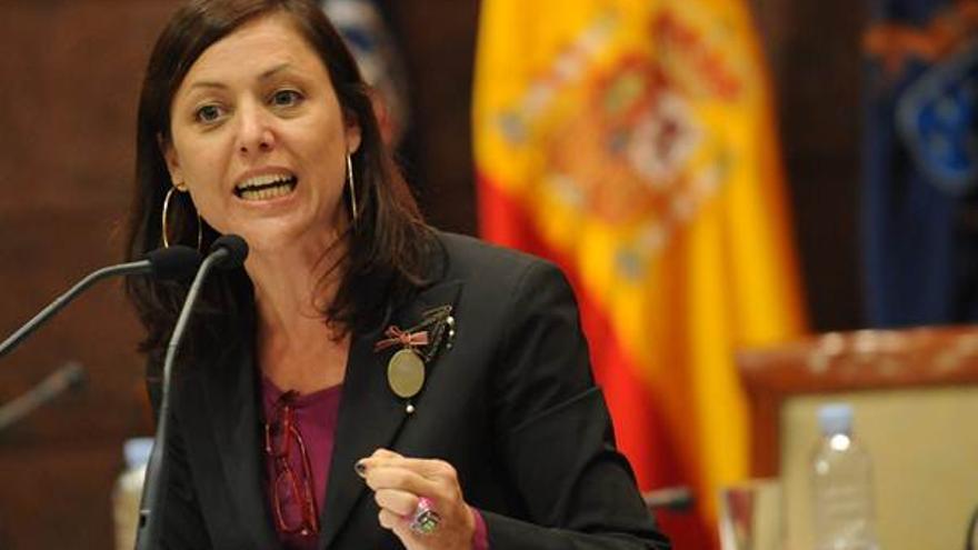 Cristina Tavío Ascanio, exdiputada del PP por la isla de Tenerife en el Parlamento de Canarias