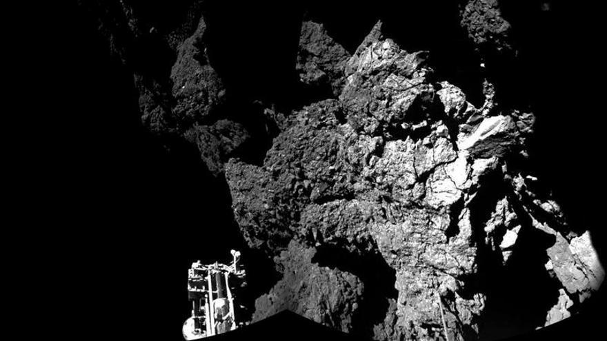 Philae se echa a dormir sobre la superficie del cometa por falta de batería