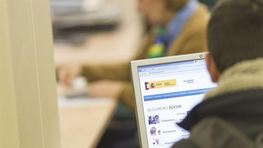 La reducción de afiliados a la Seguridad Social cayó en enero, en Canarias, en más de 8.000 personas