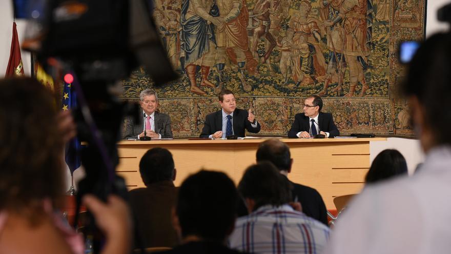 Un momento de la presentación del protocolo