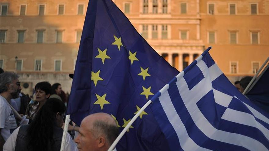 Imagen de archivo de una manifestacion en Atenas. / Foto: EFE