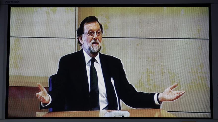 Mariano Rajoy comparece en la Audiencia Nacional por Gürtel.