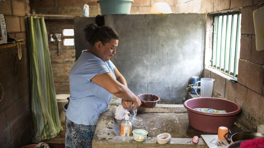 Diana Henández, departamento de Puerto Libertad.