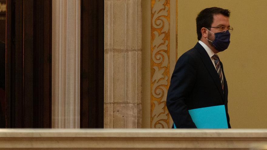 """Aragonès: superar el 50 % de voto independentista solo sería """"un primer paso"""""""