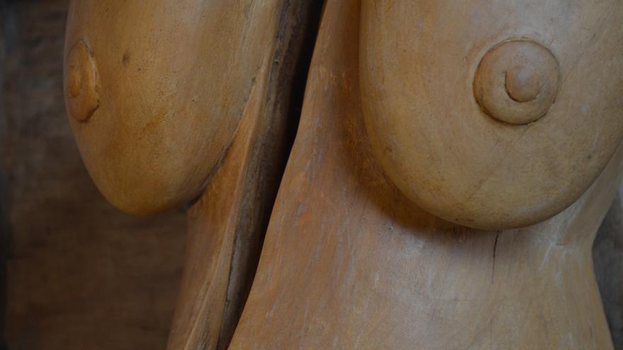 Fragmento de 'Mujer rota' de Koto.   PAULA ARRANZ