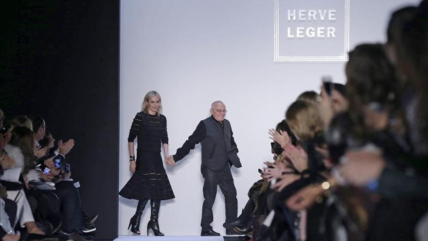La olimpiada soñada Lacoste y un previsible Hervé Leger pasean en Nueva York