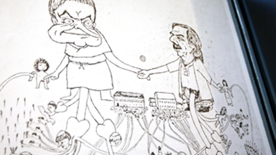 Efrén Álvarez retrata el sistema capitalista en 'Económicos'