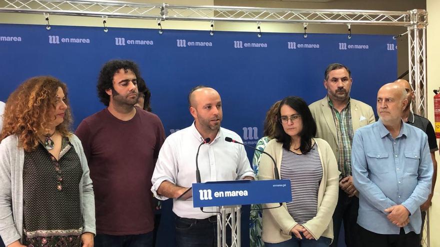 Villares anuncia la ruptura del grupo de En Marea en rueda de prensa