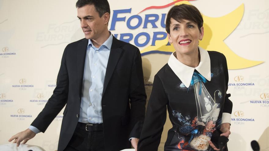 María Chivite excluye a Bildu y PP de los pactos poselectorales