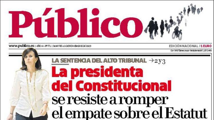 De las portadas del día (10/11/2009) #6