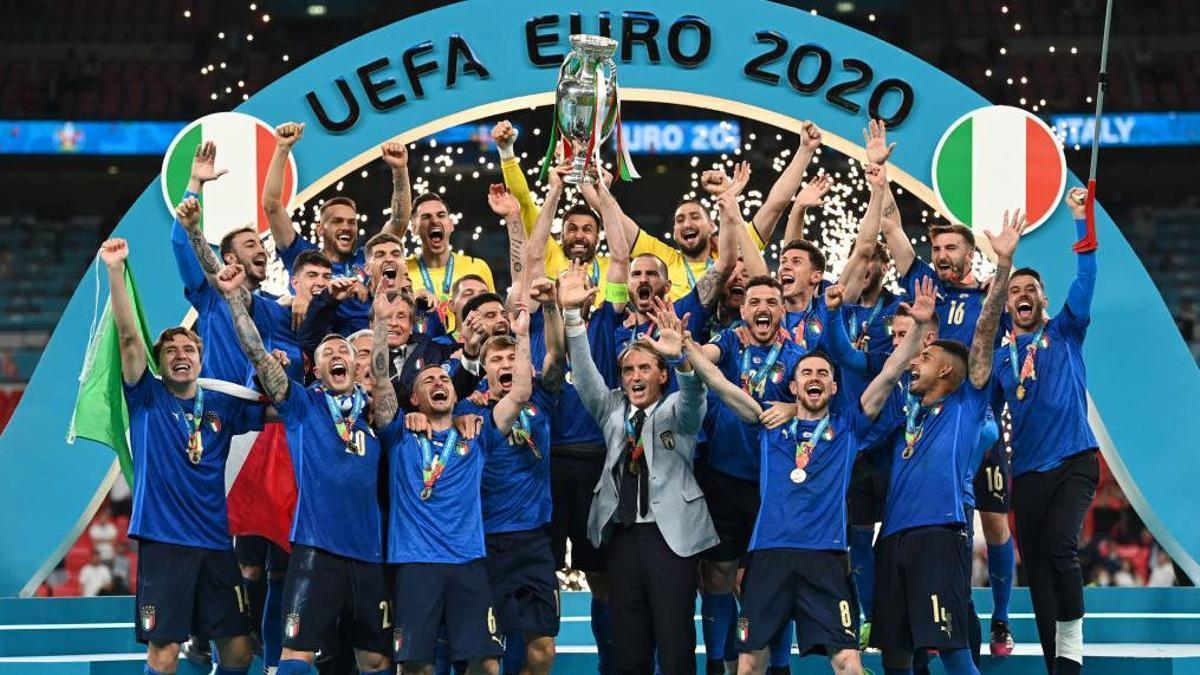Italia, campeona de Europa