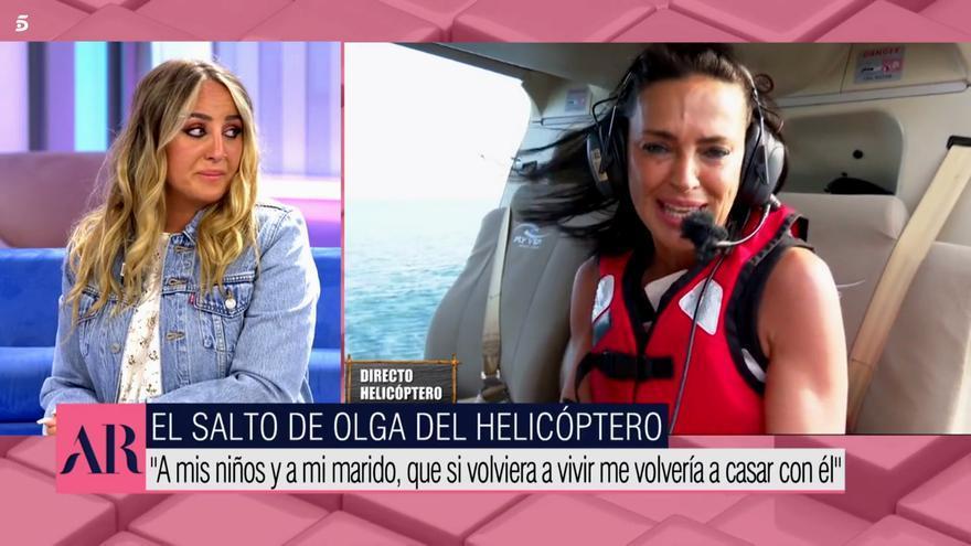 Rocío Flores comenta el salto de Olga Moreno en 'SV 2021'