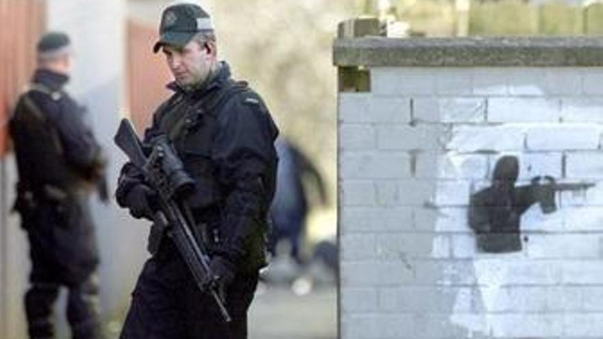 Policía en el Ulster