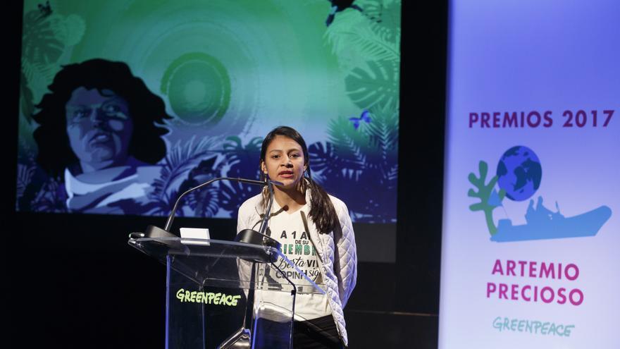 """Laura Zúñiga: """"A pesar del miedo y la violencia, seguimos soñando con una realidad distinta con justicia para todos y para todas""""."""