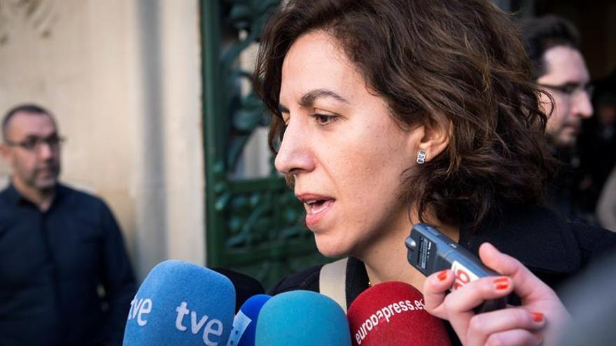 Ángeles Álvarez será la número 4 en la lista del PSOE por Madrid al Congreso