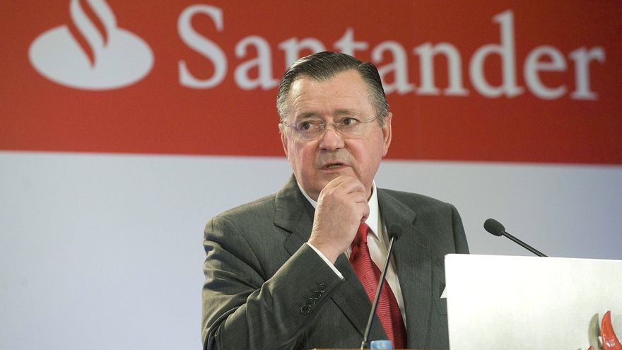 Alfredo Sáenz, consejero delegado del Banco Santander / EFE