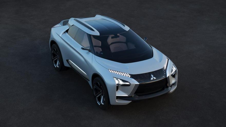 Mitsubishi e-Evolution Concept.