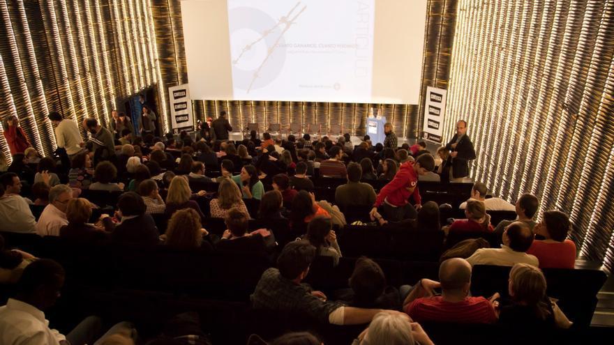 La Cineteca del Matadero de Madrid en la primera edición de Artículo 31 Film Fest./ Médicos del Mundo