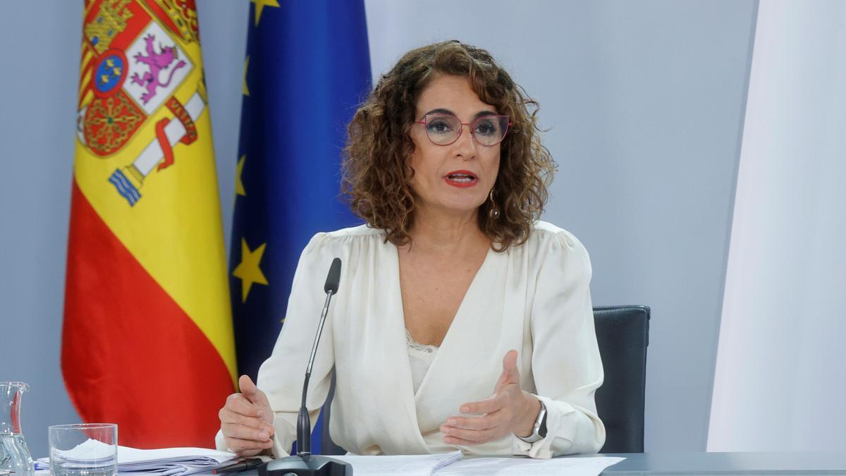 La ministra de Hacienda, María Jesús Montero, en una fotografía de archivo. EFE/Zipi