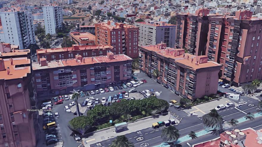 Barrio de La Vega de San José, en Las Palmas de Gran Canaria