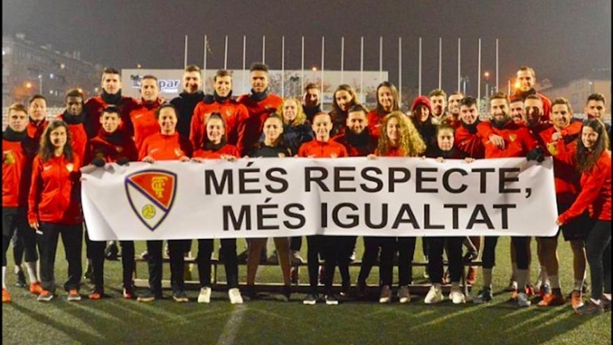 Imagen difundida por el Terrassa FC este viernes
