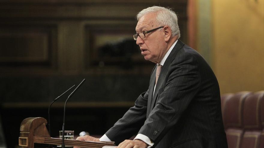 Margallo abre la puerta a que España reconozca a Palestina sin un acuerdo previo con Israel
