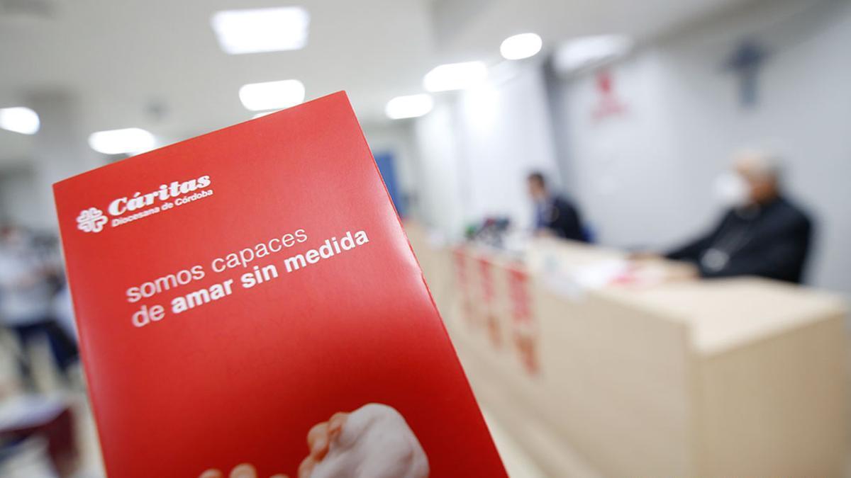 Cáritas duplicó la atención en Córdoba debido a la pandemia, hasta llegar a 40.000 personas