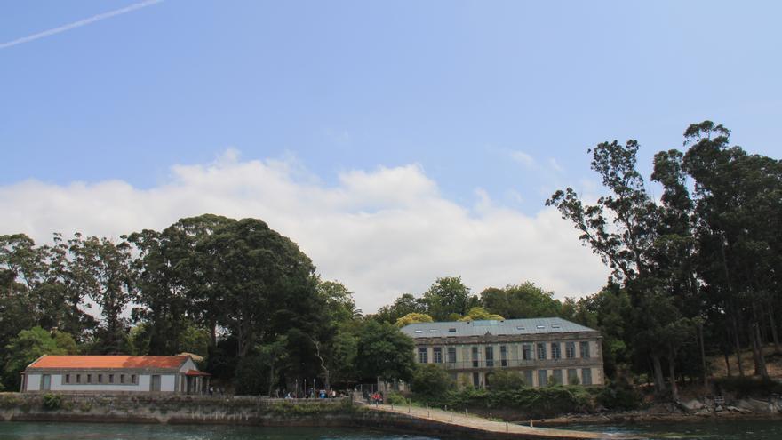 Isla de Vigo utilizada como cárcel durante el franquismo.