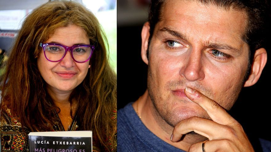Rifirrafe entre Manu Tenorio y Lucía Etxebarria por un texto sobre las mujeres
