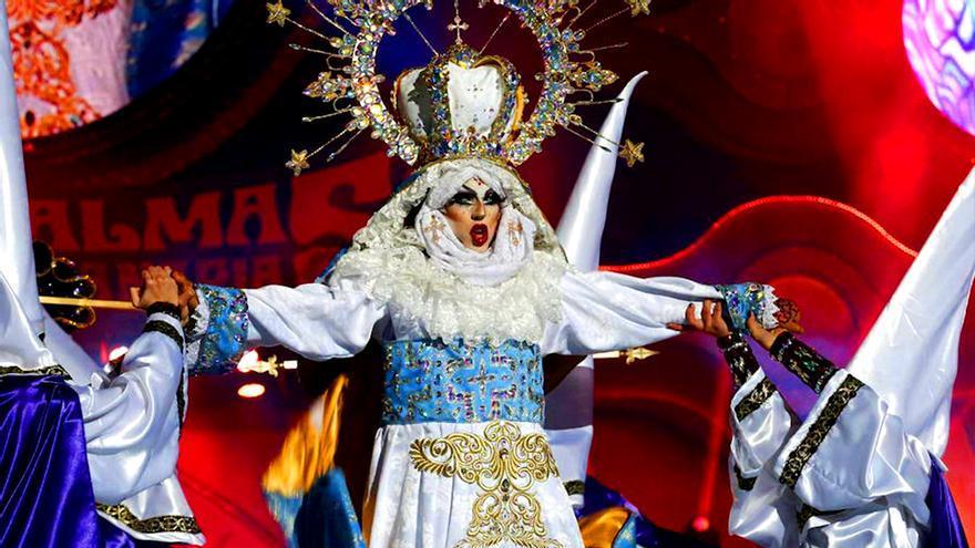Imagen de la Gala Drag Queen de Las Palmas 2017
