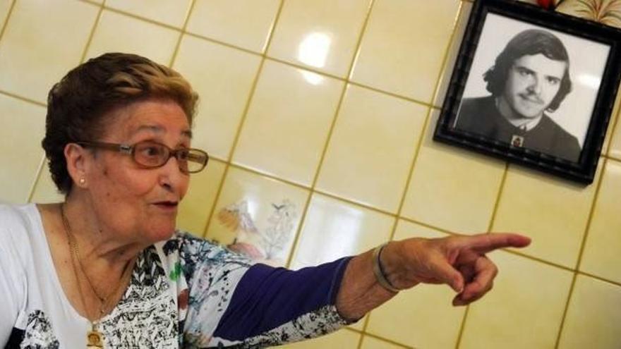 Antonia Maria Manot madre de Txiki