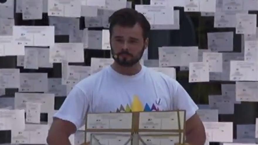 Gabriel Rufián, del secretariado de la ANC y Súmate