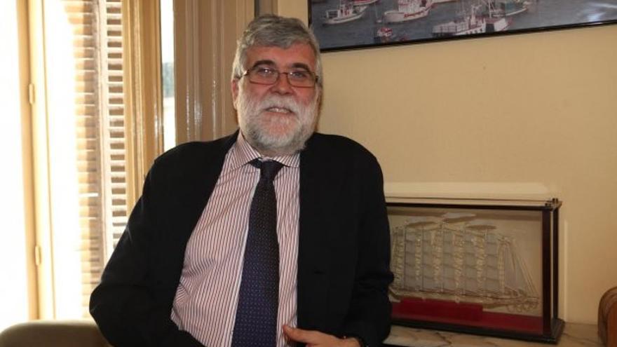 El Secretario General de la Federación Nacional de Cofradías de Pescadores, José Manuel González