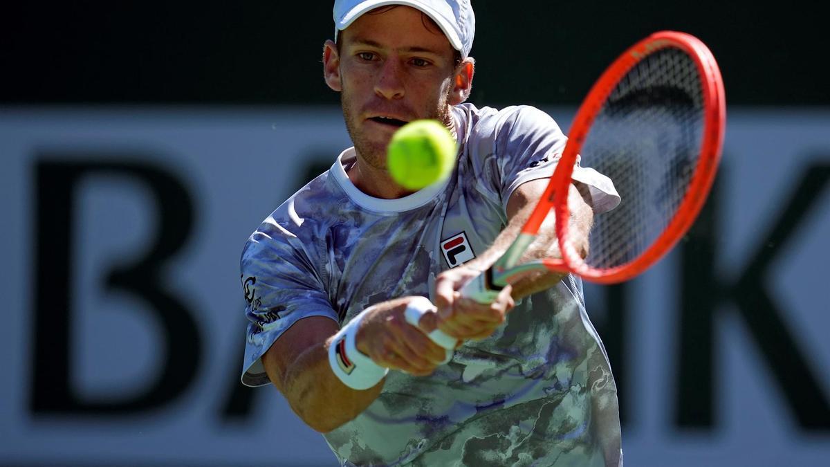Schwartzman perdió con el británico Norrie y se despidió del Masters de Indian Wells.