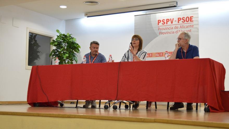 El PSOE de Alicante respalda con el 90% de votos la lista de consenso al Congreso Federal que encabeza Alejandro Soler