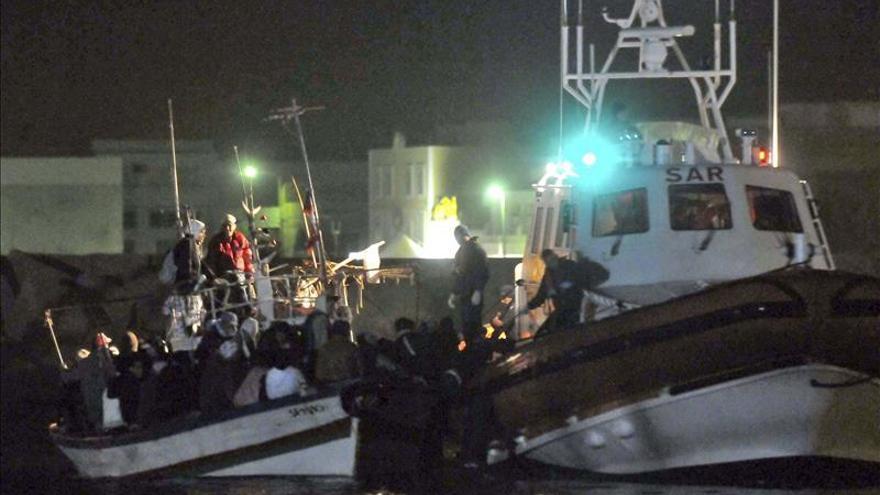 Llegan a Palermo 93 inmigrantes rescatados en las últimas horas