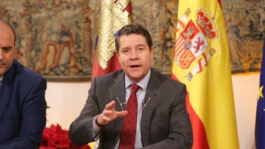 Emiliano García-Page, desayuno informativo 28.12.2017