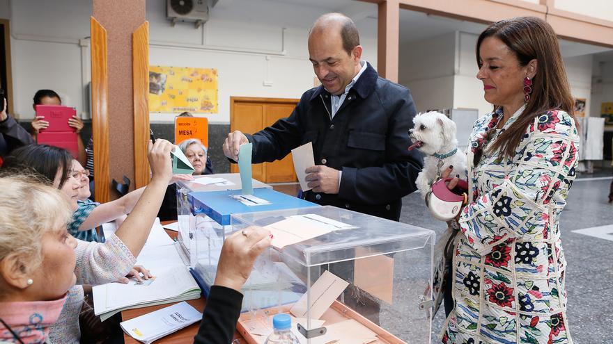El candidato del PP a la alcaldía de Las Palmas de Gran Canaria, Juan José Cardona