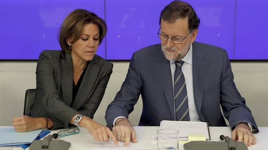 Rajoy subraya que el PP recupera apoyos y es premiado por sus rectificaciones