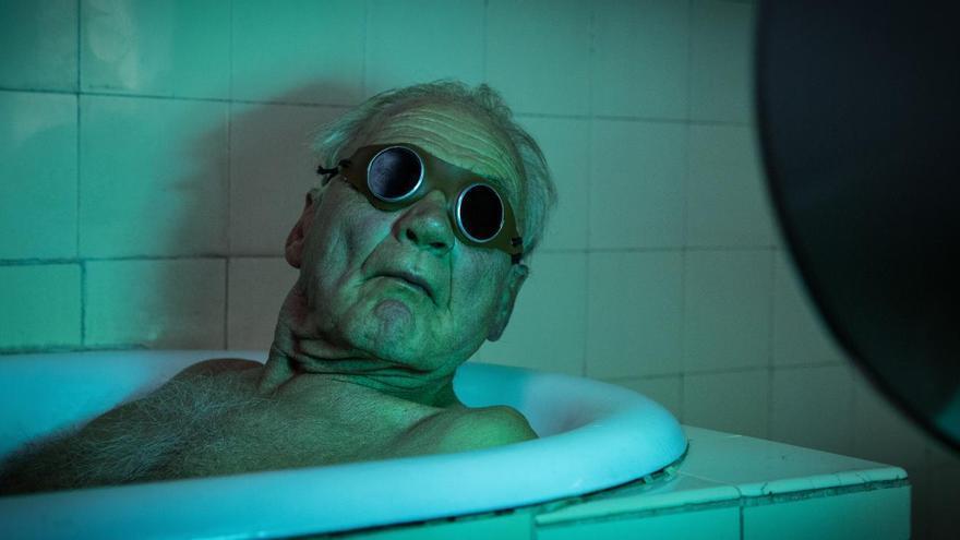 El actor Bruno Ganz en 'En tiempos de luz menguante'
