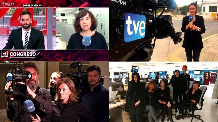 Hoy volverás a ver de negro a los trabajadores de RTVE y estos son sus motivos