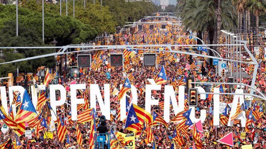 Societat Civil Catalana cifra en 200.000 los manifestantes independentistas