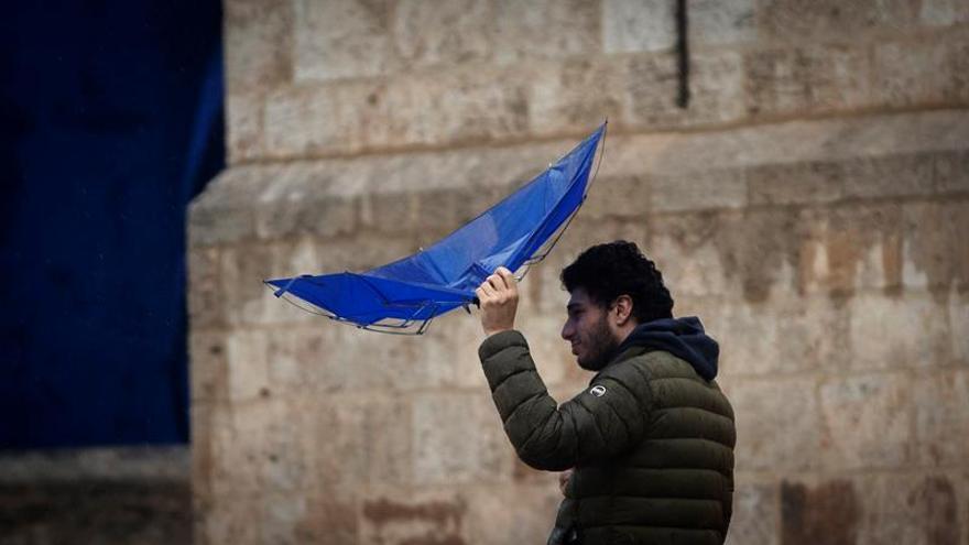 Aemet avisa del fuerte temporal que azotará desde mañana el litoral mediterráneo