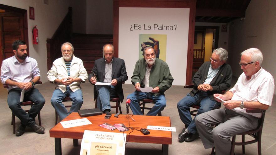 En la imagen, presentación, este martes, del ciclo 'La Palma y el mar'. Foto: LUZ RODRÍGUEZ
