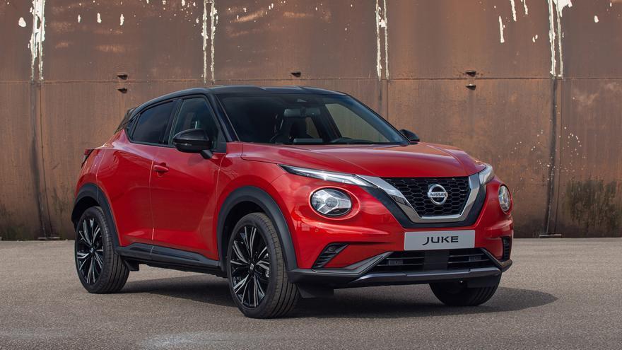 Las líneas esbeltas de Nissan JUKE y su aspecto atlético, junto a un aumento del espacio interior y un acabado moderno, suponen un nuevo estándar de diseño.