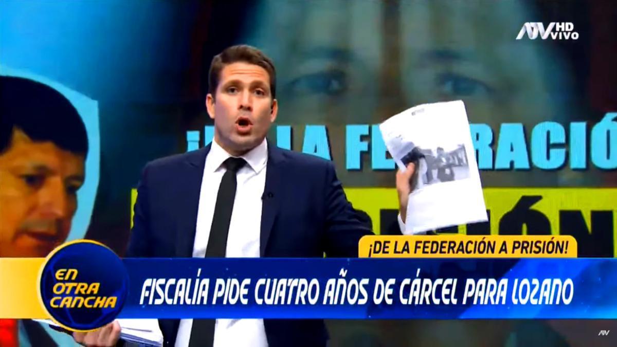Paco Bazán en su programa
