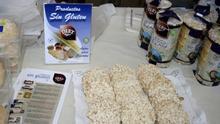 Detalle de varios productos sin gluten.